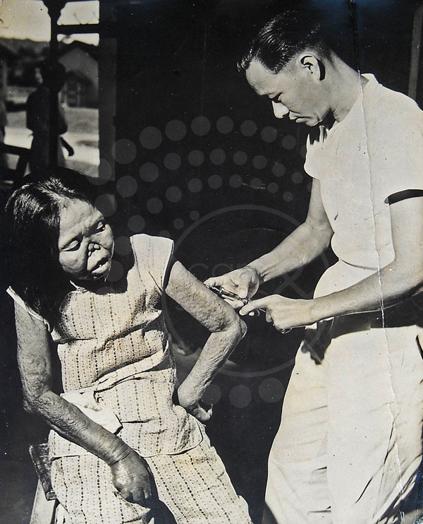 In the past when leprosy was still incurable, patients were injected with hydnocarpus oil.