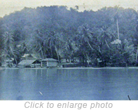 View of Pulau Jerejak in 1923.  Source-CULION MUSEUM, PHILIPPINES.